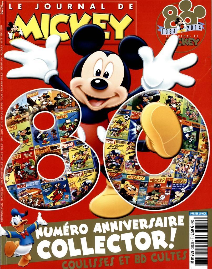 Journal de Mickey : un journal pour les enfants de tout âge
