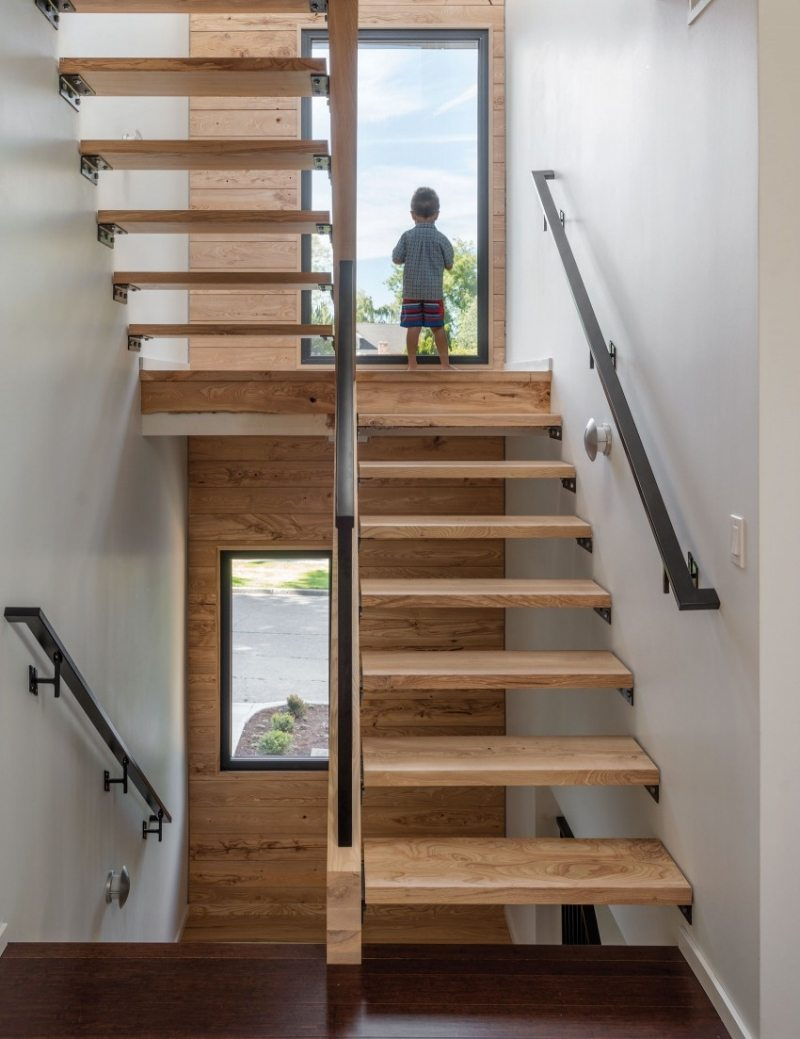 comment faire un escalier en bois. Black Bedroom Furniture Sets. Home Design Ideas