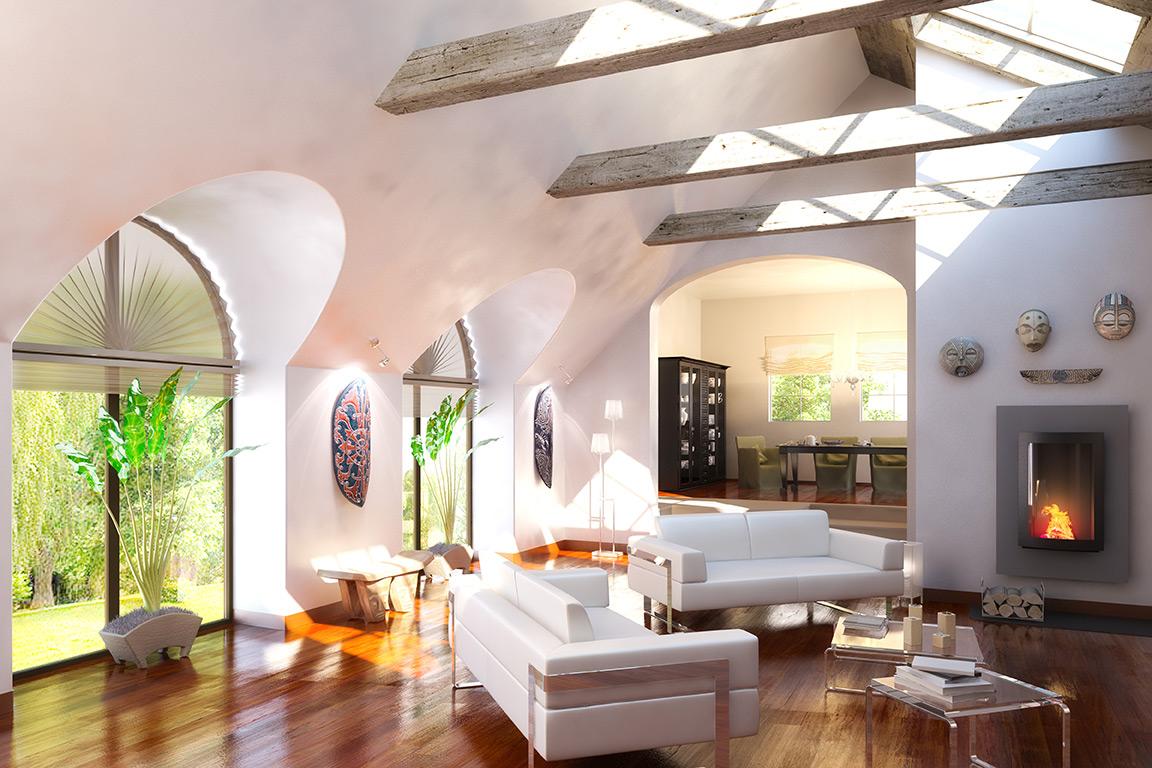 comment chauffer sa maison. Black Bedroom Furniture Sets. Home Design Ideas