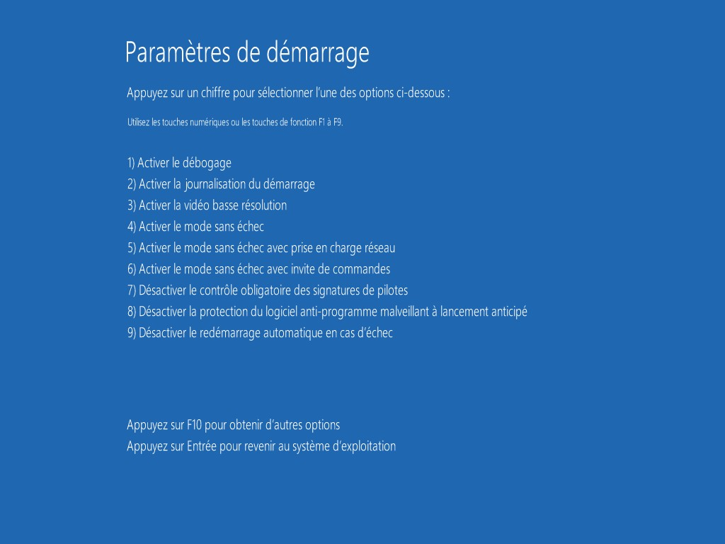 Comment reparer windows 8